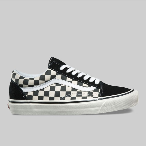 VANS OLD SKOOL 36 DX ANAHEIM BLACK CHECKERBOARD
